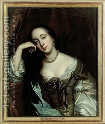 Barbara Villiers Duchess of Cleveland by Sir Peter Lely - Reproduction Oil Painting