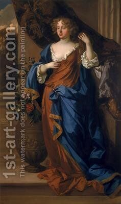 Jane Bickerton, Duchess of Norfolk by Sir Peter Lely - Reproduction Oil Painting