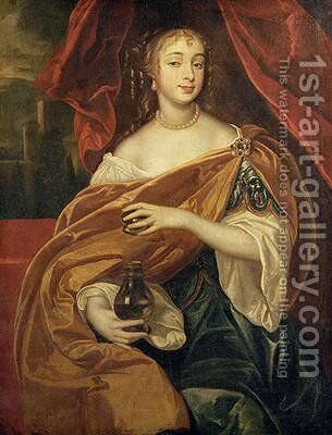 Portrait of Barbara Villiers Duchess of Cleveland 1640-1709 by Sir Peter Lely - Reproduction Oil Painting