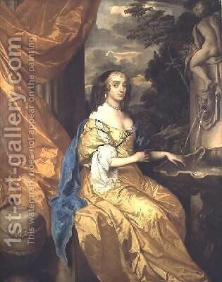 Anne Hyde Duchess of York by Sir Peter Lely - Reproduction Oil Painting