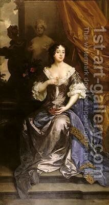 Barbara Villiers by Sir Peter Lely - Reproduction Oil Painting