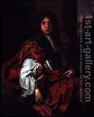Portrait of a Man by Sir Peter Lely - Reproduction Oil Painting