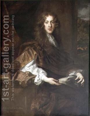 John 5th Earl of Exeter by Sir Peter Lely - Reproduction Oil Painting