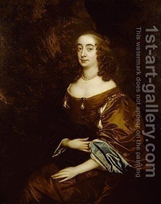 Elizabeth Clifford Countess of Cork and later Countess of Burlington by Sir Peter Lely - Reproduction Oil Painting