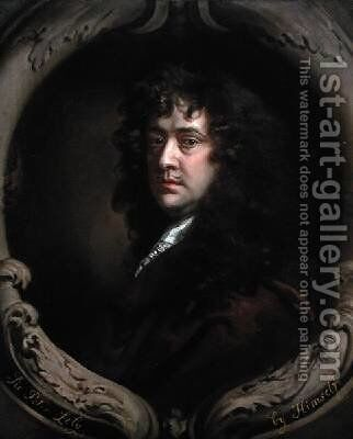 Self Portrait 2 by Sir Peter Lely - Reproduction Oil Painting