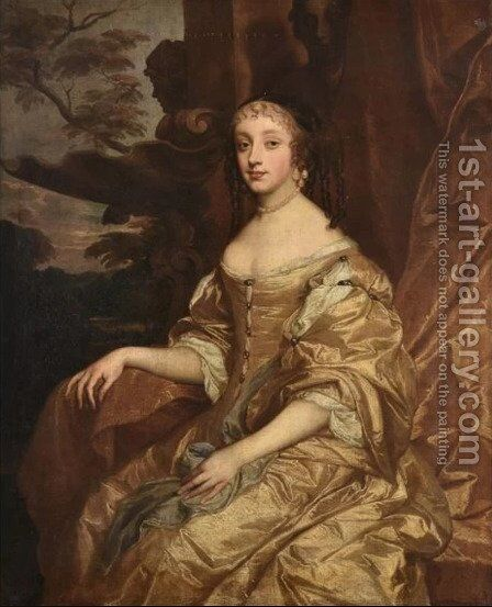 Henrietta Anne Duchess of Orleans by Sir Peter Lely - Reproduction Oil Painting