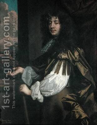 Richard Jones 1641-1712 3rd Earl of Ranelagh by Sir Peter Lely - Reproduction Oil Painting