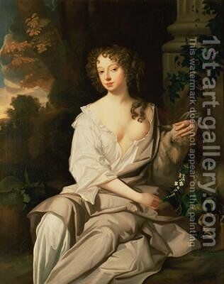 Nell Gwynne 1650-87 by Sir Peter Lely - Reproduction Oil Painting