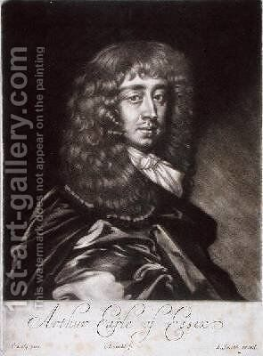 Arthur Capel 1631-83 Earl of Essex by Sir Peter Lely - Reproduction Oil Painting