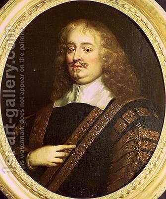 Portrait of Edward Hyde 1st Earl of Clarendon 1609-74 by Sir Peter Lely - Reproduction Oil Painting