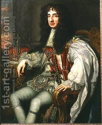 King Charles II 1630-85 by Sir Peter Lely - Reproduction Oil Painting