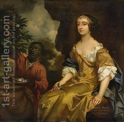 Lady Elizabeth Noel Wriothesley by Sir Peter Lely - Reproduction Oil Painting
