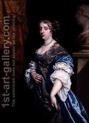 Countess of Shrewsbury by Sir Peter Lely - Reproduction Oil Painting