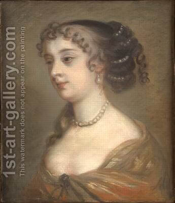 Barbara Villiers Countess of Castlemaine by Sir Peter Lely - Reproduction Oil Painting