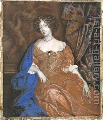 Mary of Modena as Duchess of York by Sir Peter Lely - Reproduction Oil Painting