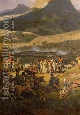 Battle of Mount Thabor 2 by Louis Lejeune - Reproduction Oil Painting