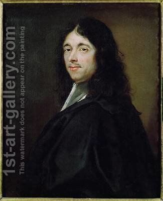 Pierre Fermat 1601-65 by (attr. to) Lefevre, Robert - Reproduction Oil Painting