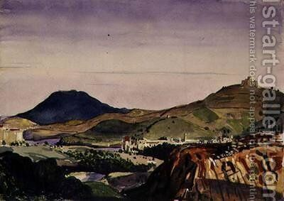 Collioure by Derwent Lees - Reproduction Oil Painting