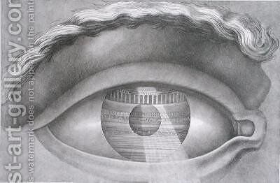 Eye enclosing the theatre at Besancon by Claude Nicolas Ledoux - Reproduction Oil Painting
