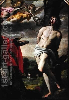 The Martyrdom of St Sebastian by Horace Leblanc - Reproduction Oil Painting