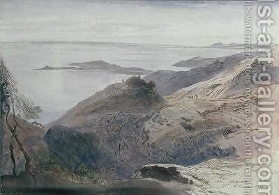 Eze by Edward Lear - Reproduction Oil Painting