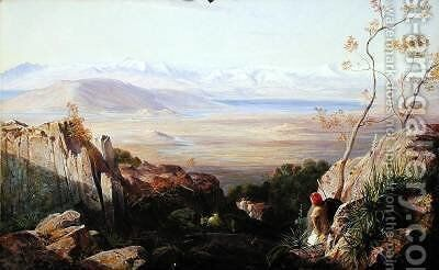 Butrinto by Edward Lear - Reproduction Oil Painting