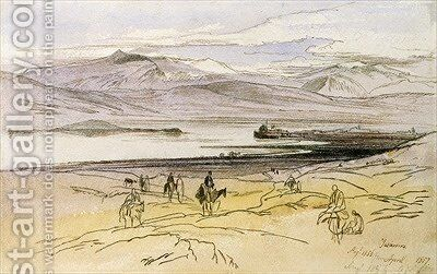 Ioannina by Edward Lear - Reproduction Oil Painting