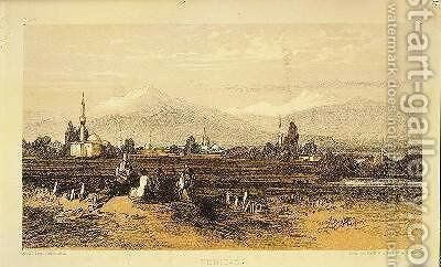 Yenidje by Edward Lear - Reproduction Oil Painting