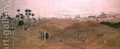 Cairo by Edward Lear - Reproduction Oil Painting