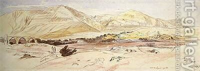 Jericho by Edward Lear - Reproduction Oil Painting