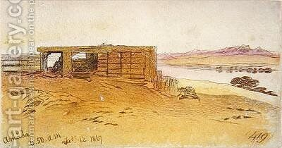 Amada 2 by Edward Lear - Reproduction Oil Painting