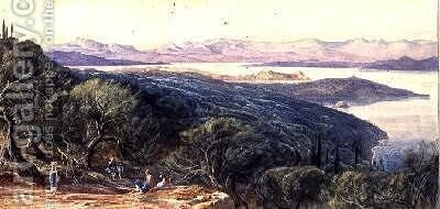 Corfu 3 by Edward Lear - Reproduction Oil Painting