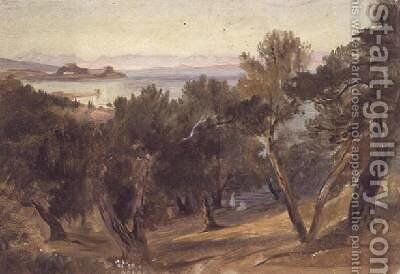Corfu 4 by Edward Lear - Reproduction Oil Painting
