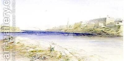 Valletta Malta by Edward Lear - Reproduction Oil Painting