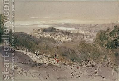 Nice by Edward Lear - Reproduction Oil Painting