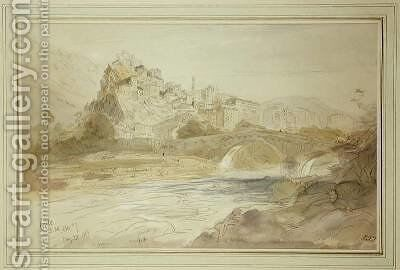 Corte by Edward Lear - Reproduction Oil Painting