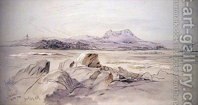 Shelaal by Edward Lear - Reproduction Oil Painting