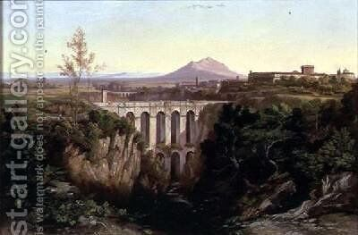 Civita Castellana 2 by Edward Lear - Reproduction Oil Painting
