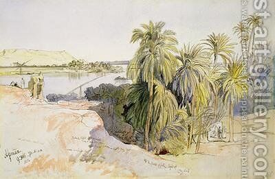 Assouan by Edward Lear - Reproduction Oil Painting