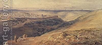 Jerusalem 2 by Edward Lear - Reproduction Oil Painting