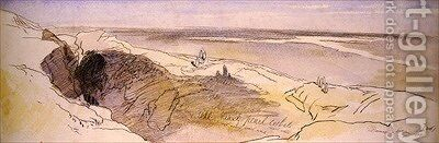 In the Desert near Damascus by Edward Lear - Reproduction Oil Painting