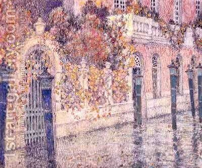 Venice by Henri Eugene Augustin Le Sidaner - Reproduction Oil Painting