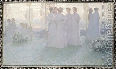 Sunday 2 by Henri Eugene Augustin Le Sidaner - Reproduction Oil Painting