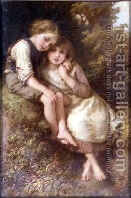 The Children by Henry Le Jeune - Reproduction Oil Painting