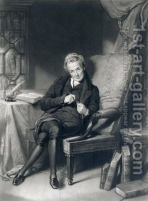 Portrait of William Wilberforce 1759-1833 by (after) Lawrence, Sir Thomas - Reproduction Oil Painting