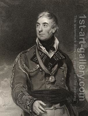 Thomas Graham by (after) Lawrence, Sir Thomas - Reproduction Oil Painting