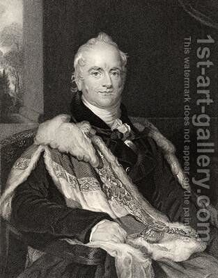 Nicholas Vansittart by (after) Lawrence, Sir Thomas - Reproduction Oil Painting