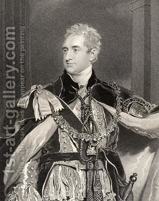 Robert Stewart Lord Castlereagh by (after) Lawrence, Sir Thomas - Reproduction Oil Painting