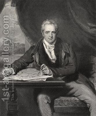 Sir Jeffry Wyatville by (after) Lawrence, Sir Thomas - Reproduction Oil Painting