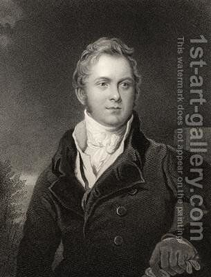 Frederick John Robinson by (after) Lawrence, Sir Thomas - Reproduction Oil Painting